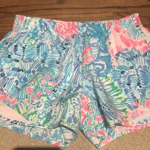 Lilly Pulitzer Ocean Trail shorts xxs EUC
